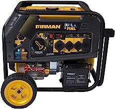 Firman H08051 10000/8000 Watt 120/240V 30/50A Electric Start Gas or Propane Dual Fuel..
