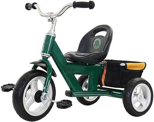 Kindertrolley Kinder-Dreirad-fürrad-Kind-fürrad-m licher und Weißicher Baby-Laufkatze 1-3-6 Jahre alter Spaßierg er GAOLILI
