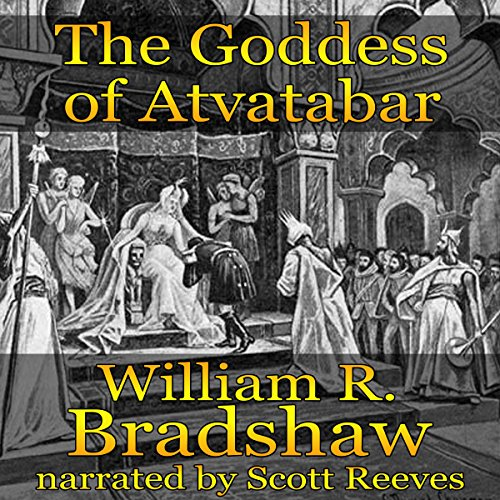 The Goddess of Atvatabar audiobook cover art