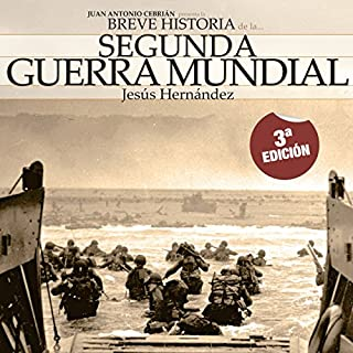 Breve historia de la Segunda Guerra Mundial audiobook cover art
