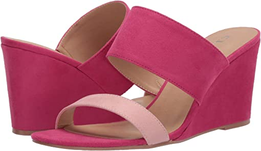 Ice Pink/Fuchsia Super Suede