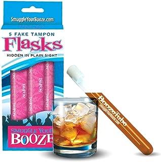 Smuggle Your Booze Tampon Flask 5 Fake Tampons
