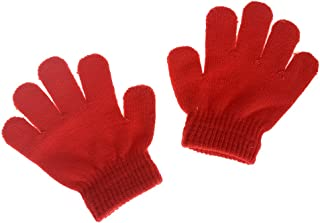 Little Boys and Girls Winter Knitted Magic Gloves Infant Toddler Baby Mittens