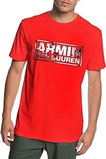 Men's Armin Van Buuren Logo Cotton Clothes Short Sleeve T Shirt Tee