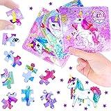 German Trendseller® - 3 x Rompecabezas Unicornio┃Puzzle┃los Colores del Arco Iris┃...