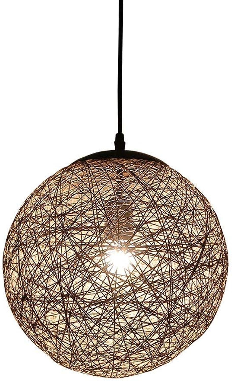 Single Head Runde Ball Seil Kronleuchter Persnlichkeit Cetin Deckenleuchte Dekoration Bar Restaurant Wohnzimmer Kreative Pendelleuchte Hngelampe