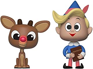 Funko Vynl: Rudolph The Red Nosed Reindeer - Rudolph & Hermie Vinyl Figure 2-Pack (Includes Pop Box Protector Case)