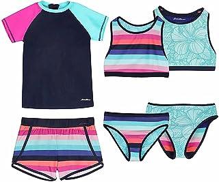 ست لباس شنا دخترانه ادی بائر 4 تکه