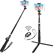 Smatree Bluetooth Selfie Stick Extendable up to 36.6 inch with Wireless Bluetooth Remote Compatible for iPhone X/8/8Plus/7/7Plus/6s/Galaxy S9/S9 Plus/Note 8/S8/GoPro Hero 8/7/6/5