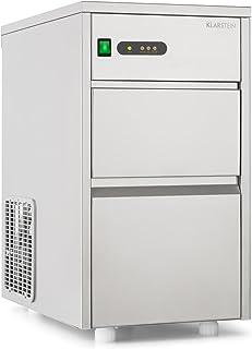KLARSTEIN Powericer XL Machine à glaçons Industrielle - 145 W, Réservoir de Glace de 3,5 kg, Glace sans arrière goût, 20 k...