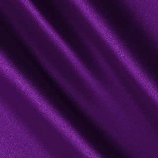 Purple Satin Fabric 60