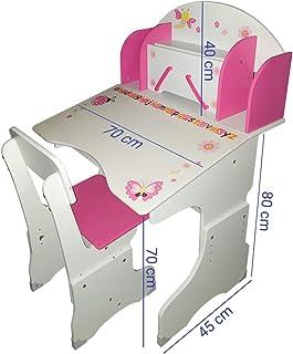 Kinderschreibtisch Schülerschreibtisch Jugendschreibtisc Höhenverstellbar /& Lamp
