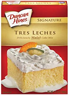 Duncan Hines Signature Tres Leches Deliciously Moist Cake Mix, 2 Pack