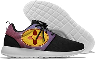 Y&L&S Zia Symbol Mens Comfortable Running Shoes Fashion Sneakers Casual Sports Shoes Lightweight Breathable