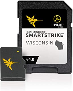 $158 » Humminbird 600041-4 SmartStrike Wisconsin V4 Digital GPS Maps Micro Card