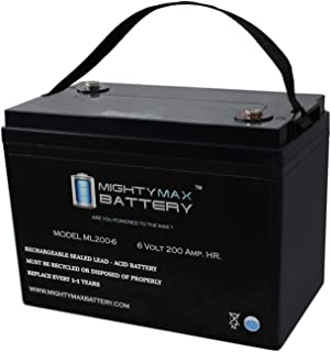 Mighty Max Battery 6V 200AH SLA Battery Replacement for Magnum Energy MM1512AE Brand Product