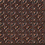 From Plain To Beautiful In Hours 150ac-24x24 Ceiling Tile, Antique Copper