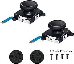3D Replacement Joystick Analog, Thumb Stick for Nintendo Switch [Original], 2-Pack Professional Analog Joystick Replacemen...