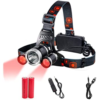 LED Headlight Torch Cree T6 Running Rechargeable Headlamp Head Light Lamp UK