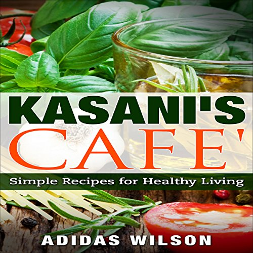 Kasani's Cafe audiobook cover art