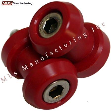 8 8MM-rot Swing Arm Spool 10mm Motorrad CNC Aluminiumlegierung Swing Arm Spool Sliders Stehen Swingarm Bobbins