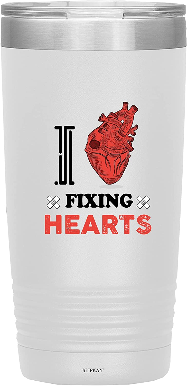 I Love Fixing Hearts Cardiology 20oz Cardiologist Tumbler Same day shipping Vacuum Super special price
