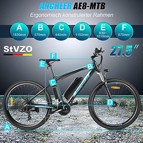 ANCHEER Elektrofahrrad E-Mountainbike Bild 5*