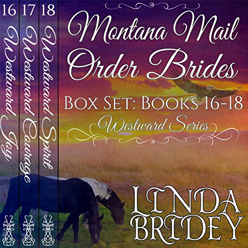 Montana Mail Order Bride Box Set Books 16-18 audiobook cover art