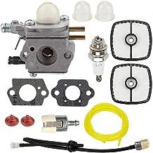 Hayskill SRM-2100 Carburetor with Tune Up Kit Air Filter for Echo SRM-2110 GT-2000 GT-2000R PAS2000 PAS-2100 SRM-2410 PP-1200 PE-2000 PP-800 PPF-2100 PPT-2100 Trimmer Carb