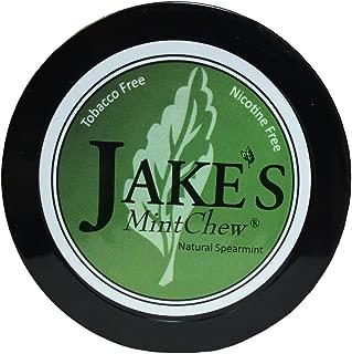 Jake's Mint Chew - Spearmint - Tobacco & Nicotine Free!
