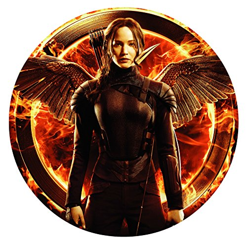 The Hunger Games Mockingjay Katniss Edible Image Photo Sugar Frosting Icing Cake Topper Sheet Birthday Party - 8' ROUND - 75362
