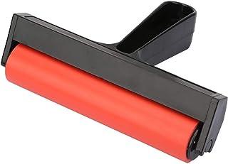 Rubber Brayer Roller Verf en Inkt Roller Tool voor Inkt Verf Blok Stempelen, Printmaking Wallpaper en Arts Crafts(15cm)