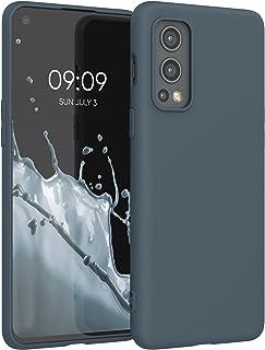 kwmobile telefoonhoesje compatibel met OnePlus Nord 2 5G - Hoesje voor smartphone - Back cover in leigrijs