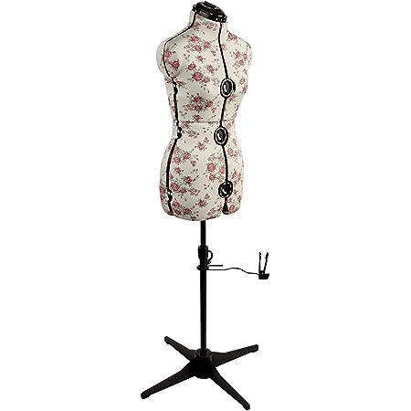 Sewing Online Mannequin Couture Réglable Bourgeon de Rose [Petite]