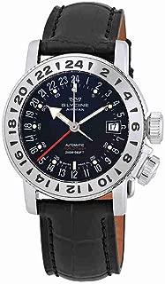 Glycine Airman 18 GMT Automatic Black Dial Mens Watch GL0226