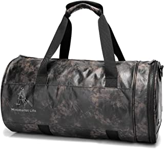 Travel Duffle Holdall for Luggage Gym Sports, Holdall With Shoes Compartment (Color : Gray)