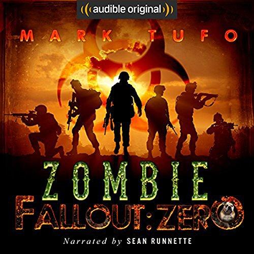 Zombie Fallout: Zero audiobook cover art