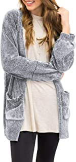 Best velvet chenille cardigan Reviews