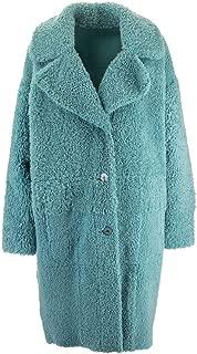 DROME Luxury Fashion Womens DPD5646D17265141 Light Blue Coat   Fall Winter 19