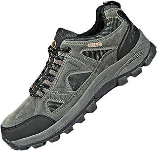 ハイキングシューズ メンズ 登山靴 春 夏 カジュアル 通気性 幅広 アウトドア スポーツ スニーカー 滑り止め クッション レースアップ 走れる メッシュ 布 ラウンドトゥ 3色揃い 大きいサイズ