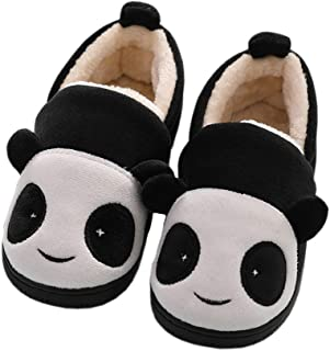 Girls House Slippers Kids Plush House Shoes Boys Warm...