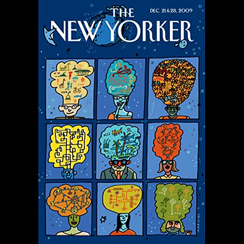 The New Yorker, December 21, 2009 (Evan Osnos, John Seabrook, George Packer) audiobook cover art
