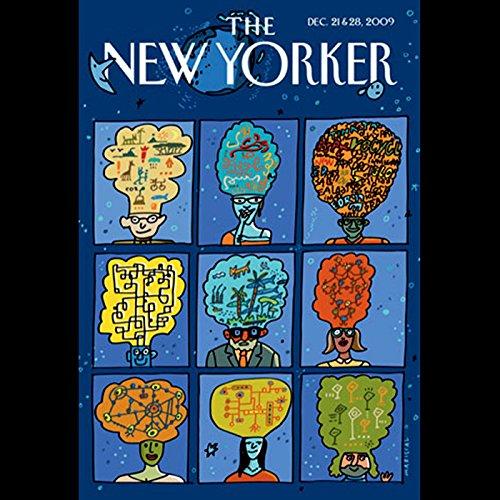 The New Yorker, December 21, 2009 (Evan Osnos, John Seabrook, George Packer) cover art