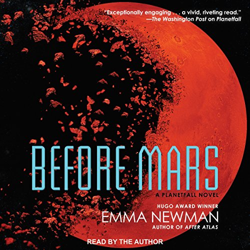 Before Mars audiobook cover art