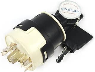 701/45500 330262 1532371C2 50988 20500101 85804674 Ignition Switch - SINOCMP Ignition Switch with 9 Pins For JCB JCB200 JCB220 PART NO. 701/80184 701/45500 Excavator Parts, 3 Month Warranty (9 Pins)