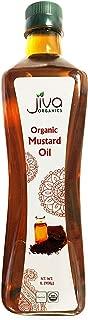 Jiva Organic Mustard Seed Oil Pure 33.8 Ounce (1 Liter)