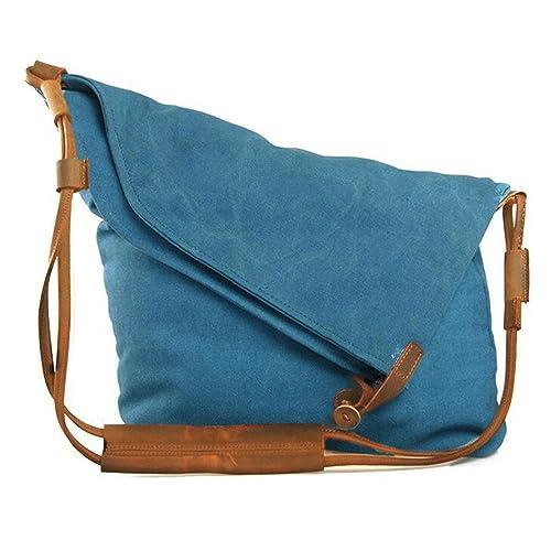 0147501af FXTXYMX Hobo Bags Canvas Cross Body Messenger Bags Handbag Totes Shoulder  Purse Fold Over Bag for