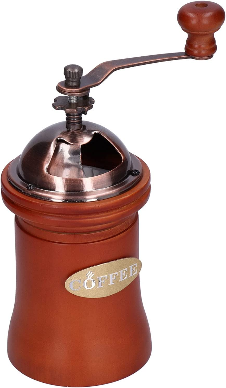 Coffee Mill Postbox Shape Household Grinder Japan's largest assortment Manual favorite