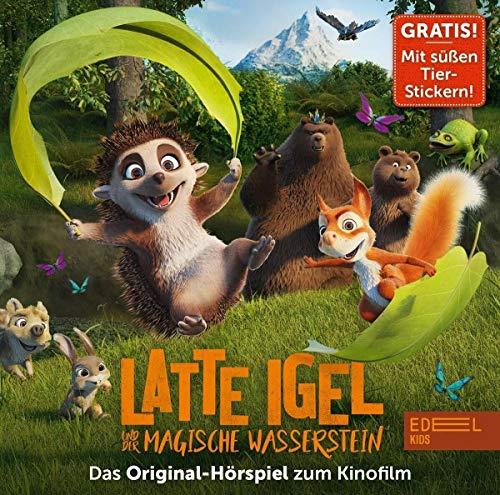 Latte Igel und der magische Wasserstein - Das Original-Hörspiel zum Kinofilm (mit süßen Tier-Stickern)