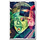 Poster - Albert Einstein's Trip - Büro Physik Wissenschaft